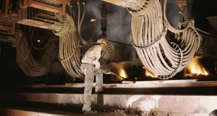 Smelting and metal refining